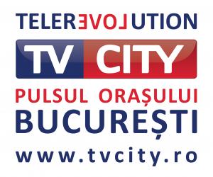 Sigla TV CITY afise _ fundal alb