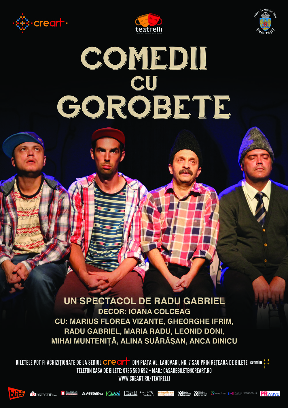 Comedii cu Gorobete