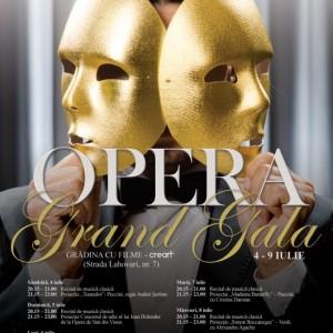 Opera Grand Gala - afis