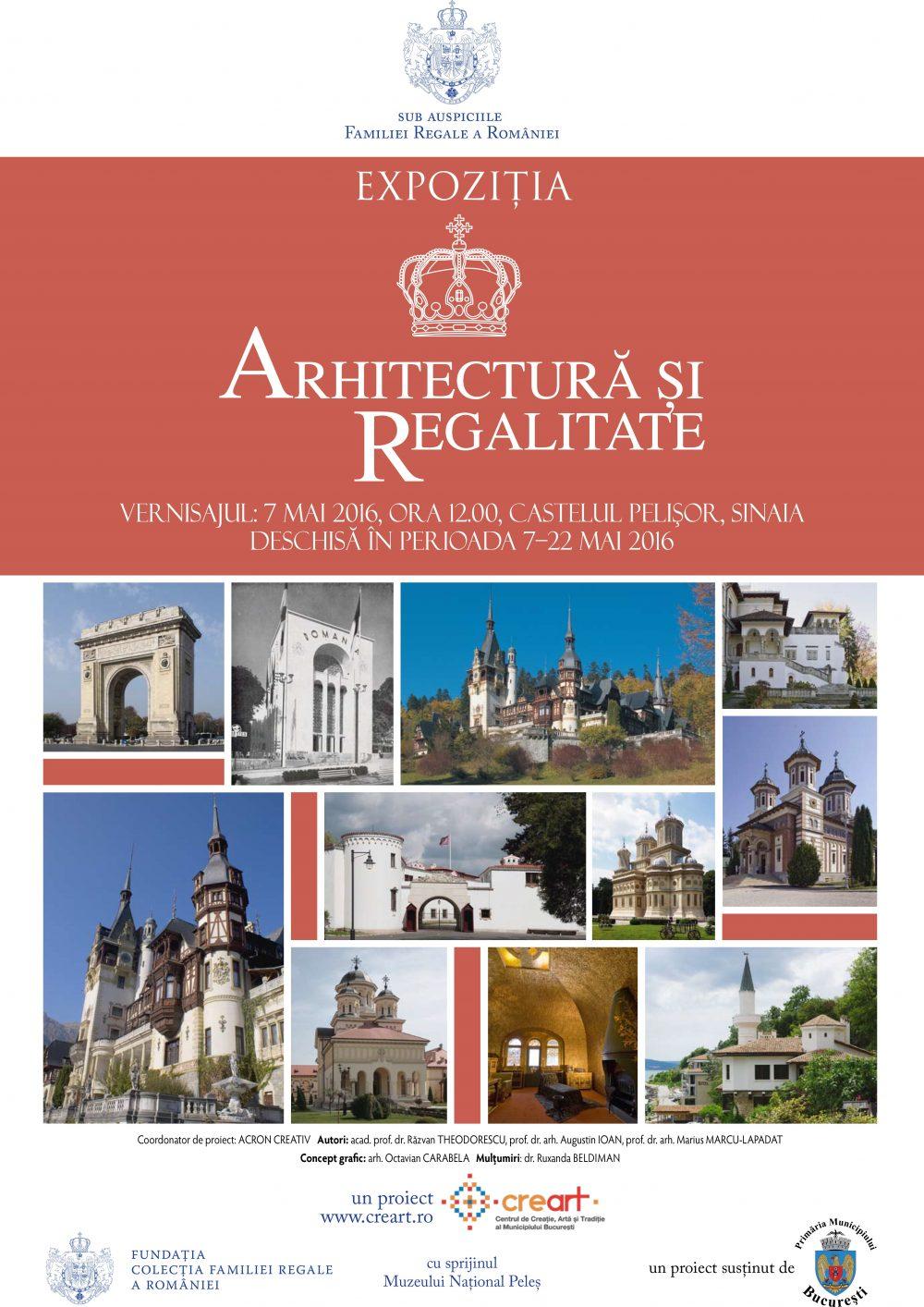 Arhitectura si Regalitate - Afis 2016