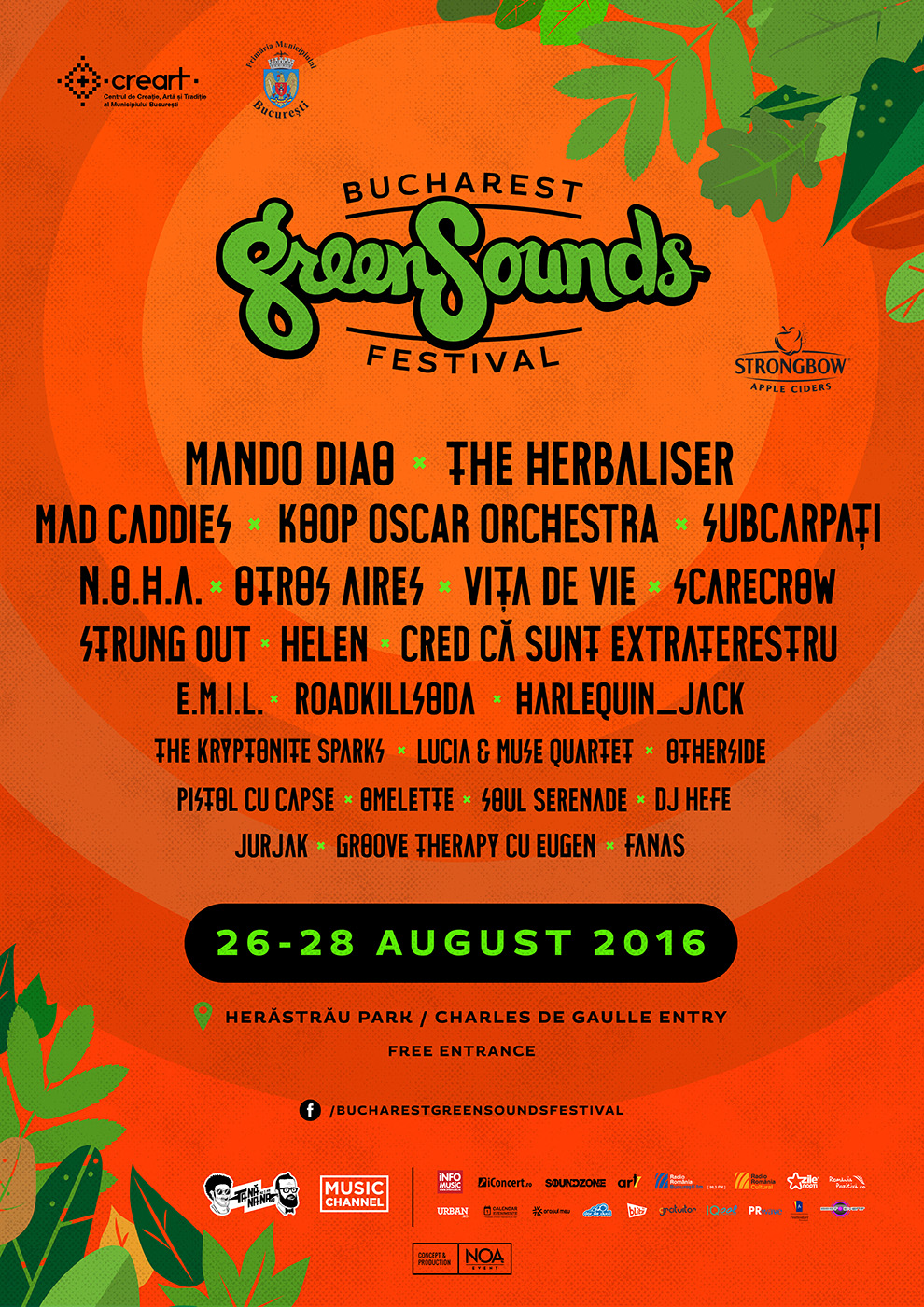 Afis GreenSounds 2016