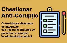 Chestionar anti-corupție